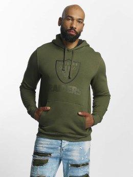 New Era Bluzy z kapturem NFL Camo Oakland Raiders oliwkowy