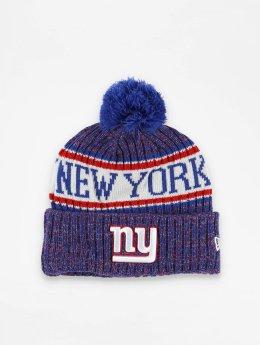 New Era Bonnet hiver NFL Sport Cuff New York Giants bleu