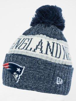 New Era Bonnet hiver NFL Sport Cuff New England Patriots bleu