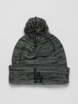 New Era | MLB Cuff Los Angeles Dodgers gris Homme,Femme Bonnet hiver