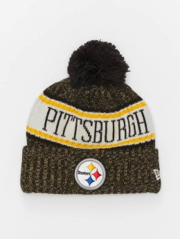 New Era Bonnet hiver NFL Sport Cuff Pittsburgh Steelers multicolore