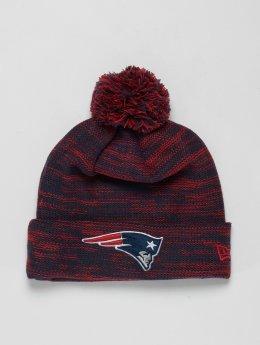 New Era Bonnet hiver NFL Cuff New England Patriots rouge