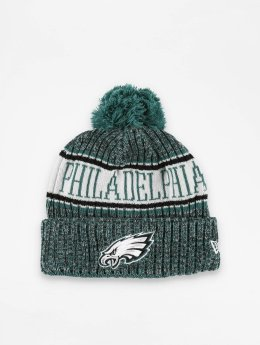 New Era Bonnet hiver NFL Sport Cuff Philadelphia Eagles vert
