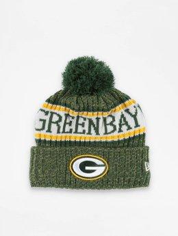 New Era Bonnet hiver NFL Sport Cuff Green Bay Packers vert