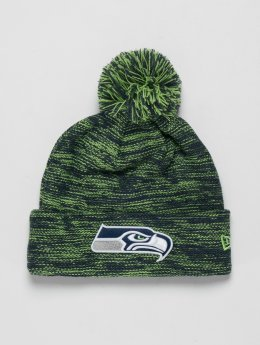 New Era Bonnet hiver NFL Cuff Seattle Seahawks vert