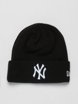 New Era Bonnet MLB Cuff New York Yankees noir
