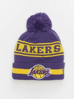 New Era Bonnet NBA Team Jake Los Angeles Lakers Cuff pourpre