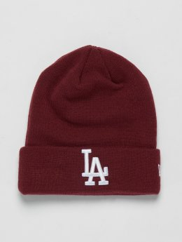 New Era Bonnet MLB Cuff Los Angeles Dodgers rouge