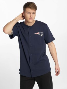 New Era Camicia Nfl Non Replica Established New England Patriots blu
