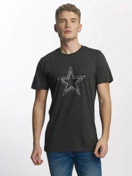 New Era Two Tone Pop Dallas Cowboys T-Shirt Heather Graphite/Offical Team Colour