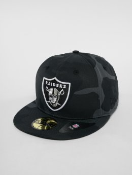 New Era Casquette Fitted NFL Camo Colour Oakland Raiders 59 Fifty camouflage