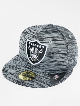 New Era Casquette Fitted NFL Oakland Raiders gris