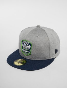 New Era Casquette Fitted NFL Seattle Seahawks 59 Fifty gris