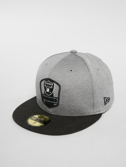 New Era Casquette Fitted NFL Oakland Raiders 59 Fifty gris