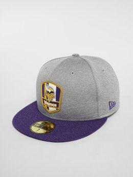 New Era Casquette Fitted NFL Minnesota Vikings 59 Fifty gris