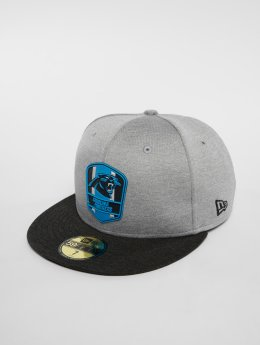 New Era Casquette Fitted NFL Carolina Panthers 59 Fifty gris