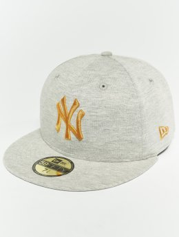 New Era Casquette Fitted MLB Essential New York Yankees 59 Fifty Fitted Cap gris