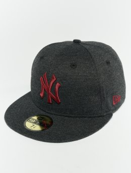 New Era Casquette Fitted MLB Essential New York Yankees 59 Fifty gris