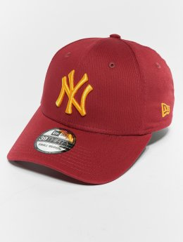 New Era Casquette Flex Fitted MLB Essential New York Yankees 39 Thirty rouge
