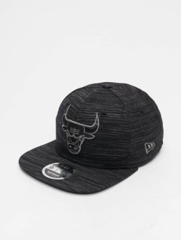 New Era Casquette Snapback & Strapback NBA Engineered Fit Chicago Bulls 9 Fifty noir