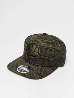 New Era Casquette Snapback & Strapback NBA Engineered Fit Golden State Warriors 9 Fifty olive