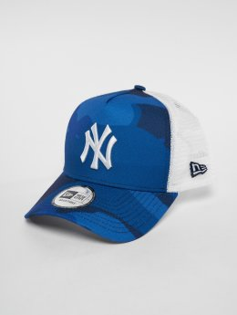 New Era Casquette Trucker mesh MLB Camo Colour New York Yankees 9 Fourty blanc