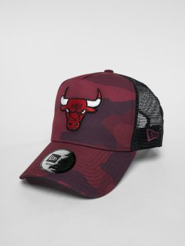 New Era Casquette Trucker mesh NBA Camo Colour Chicago Bulls camouflage