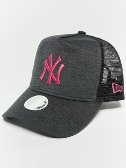 New Era Casquette Trucker mesh MLB Essential New York Yankees 9 Fourty Aframe gris