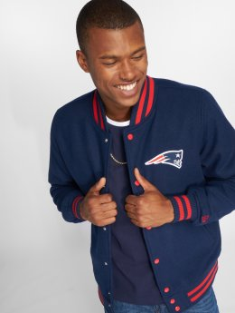New Era College Jacke NFL Team New England Patriots Varsity blau