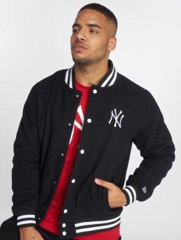 New Era College Jacke New York Yankees schwarz