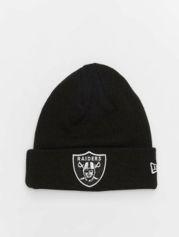 New Era Czapki NFL Team Essential Oakland Raiders Cuff czarny