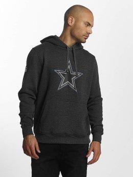 New Era Felpa con cappuccio Dallas Cowboys grigio