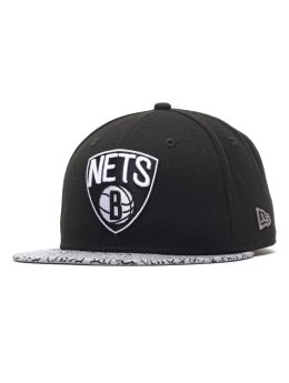 New Era Fitted Cap Ger Ele Vize Nba Brooklyn Nets Fitted czarny