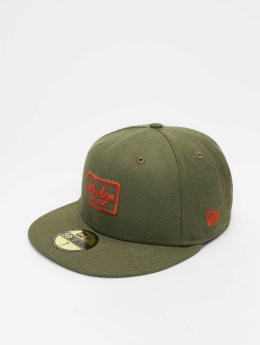 New Era Fitted Cap Heather 59 Fifty grøn