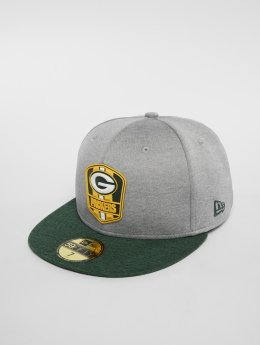 New Era Fitted Cap NFL Green Bay Packers 59 Fifty grijs