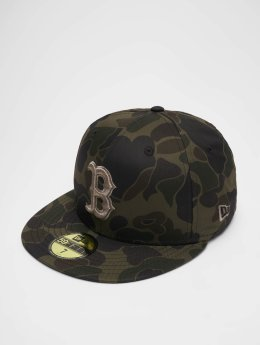New Era Fitted Cap MLB Camo Bosten Red Sox 59 Fifty moro