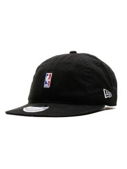 New Era Fitted Cap NBA Logo schwarz