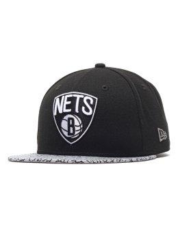 New Era Fitted Cap Ger Ele Vize Nba Brooklyn Nets Fitted svart