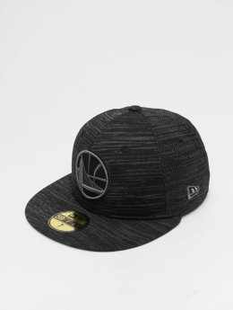 New Era Fitted Cap NBA Engineered Fit Golden State Warriors 59 Fifty zwart