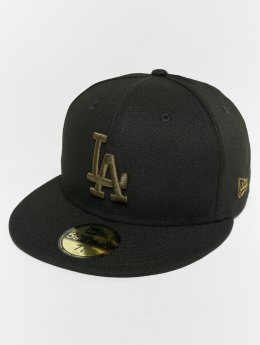 New Era Fitted Cap MLB Essential Los Angeles Dodgers 59 Fifty zwart