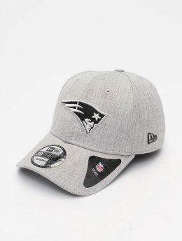 New Era Flexfitted Cap NFL Heather Essential New England Patriots 39 Thirty grau
