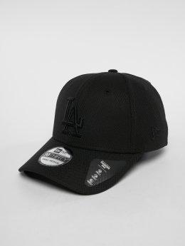 New Era Flexfitted Cap MLB Diamond Los Angeles Dodgers 39 Thirty noir