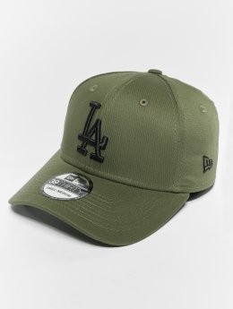New Era Flexfitted Cap MLB Essential Los Angeles Dodgers 39 Thirty oliwkowy