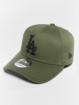 New Era Flexfitted Cap MLB Essential Los Angeles Dodgers 39 Thirty oliwkowy