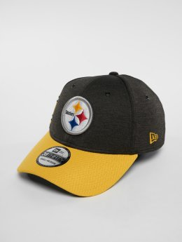 New Era Flexfitted Cap NFL Pittsburgh Steelers 39 Thirty schwarz