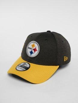 New Era Flexfitted Cap NFL Pittsburgh Steelers 39 Thirty zwart
