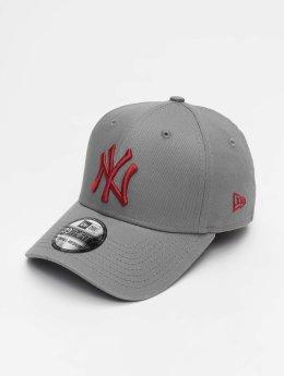 New Era Flexfitted-lippikset MLB League Essential New York Yankees 39 Thirty harmaa