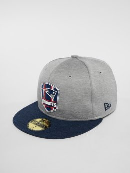 New Era Gorra plana New England Patriots 59 Fifty gris