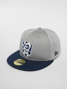 New Era Gorra plana NFL Los Angeles Rams 59 Fifty gris