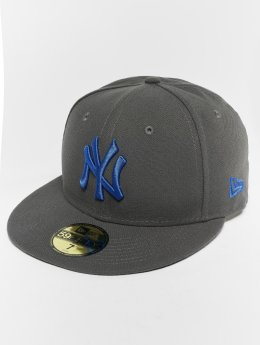 New Era Gorra plana MLB Essential New York Yankees 59 Fifty gris